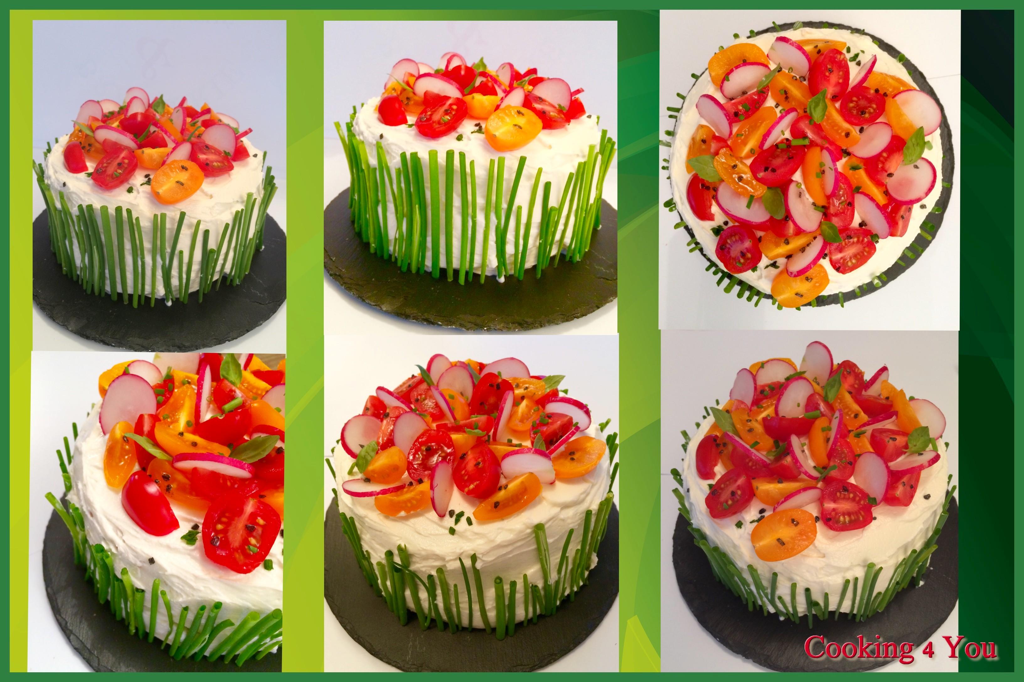 Recettes Cake Sale Vegetarien